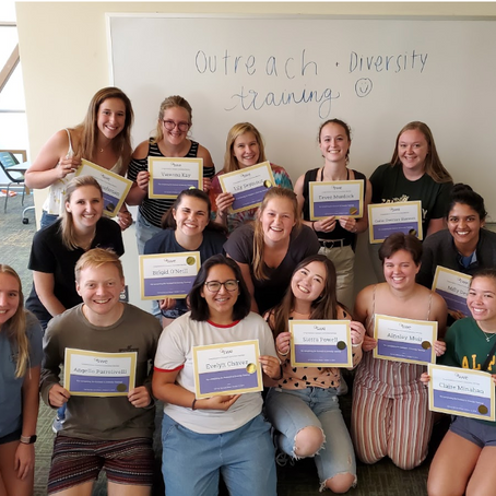 2019 Outreach and Diversity Training