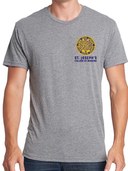 SJCON heather grey shirt