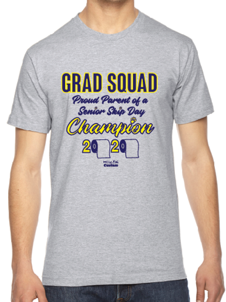 Grad Squad Adult short sleeve shirt