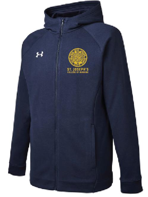 Under Armour full zip hooded sweatshirt