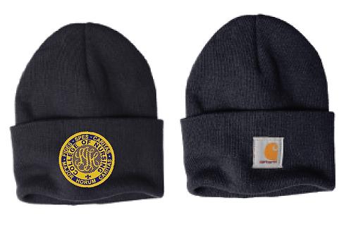 Carhartt navy winter hat (Carhartt logo on back)