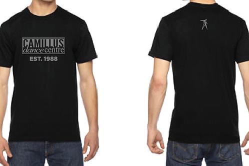 Black cotton SS shirt