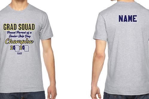 Custom Grad Squad Adult short sleeve shirt