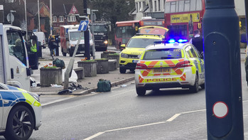 West Drayton high street closed following serious collision