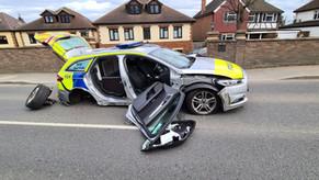 Collision causes road closures in Ickenham