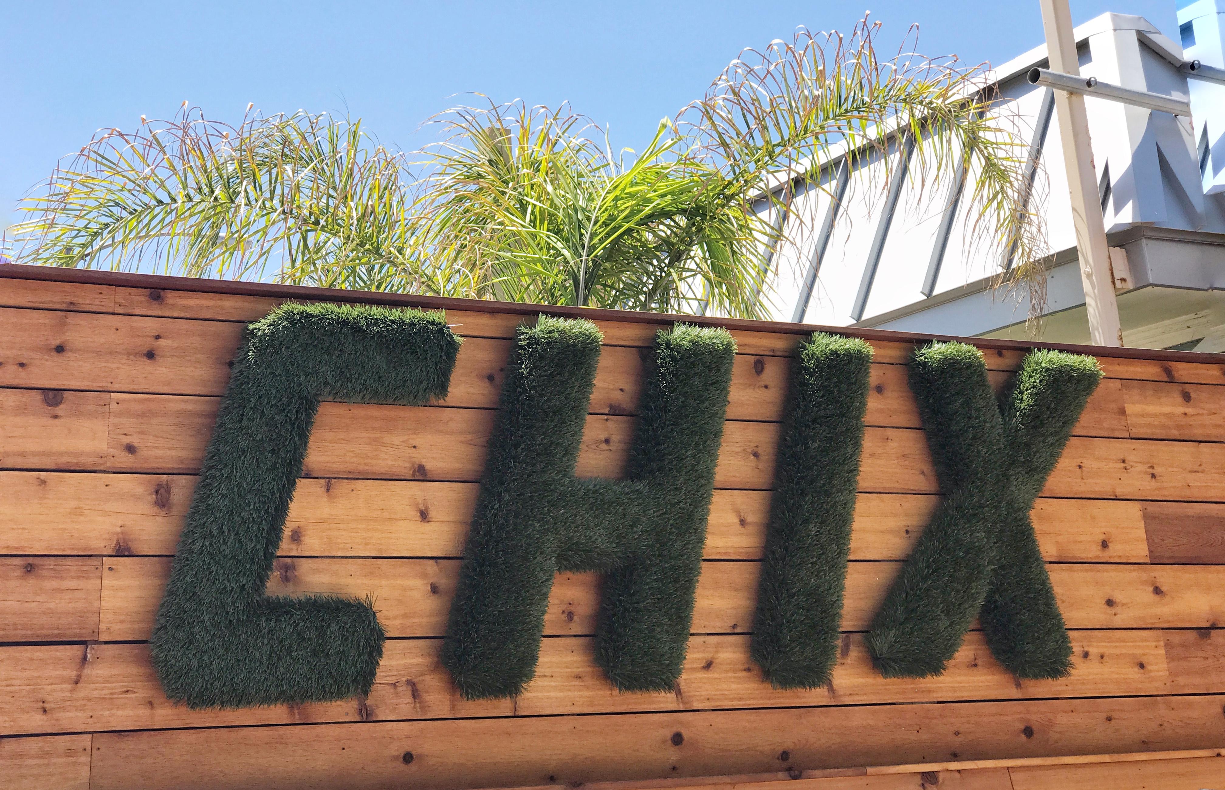 Chix Patio Greenery