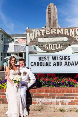 Couple with Marquee
