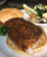 Yellowfin Tuna Sandwich