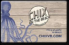 Chix Gift Card
