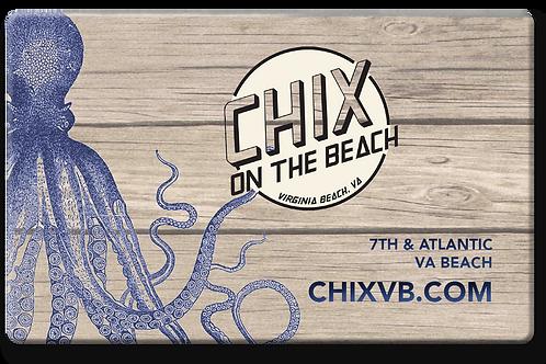 Chix Gift Card—$100 Denomination