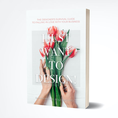 I Just Want To Design! Print Book