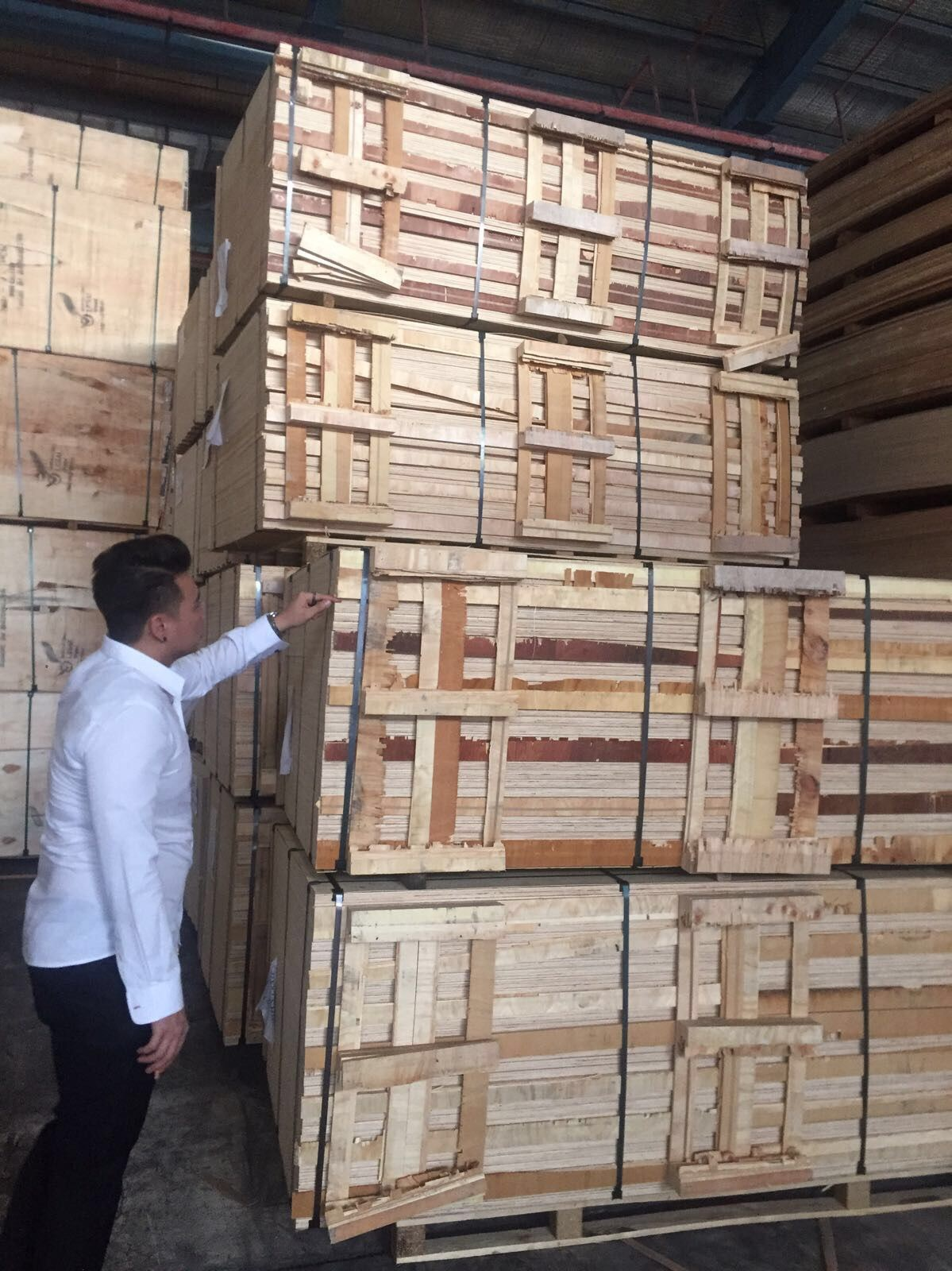 Vietnam Board Packing Inspection