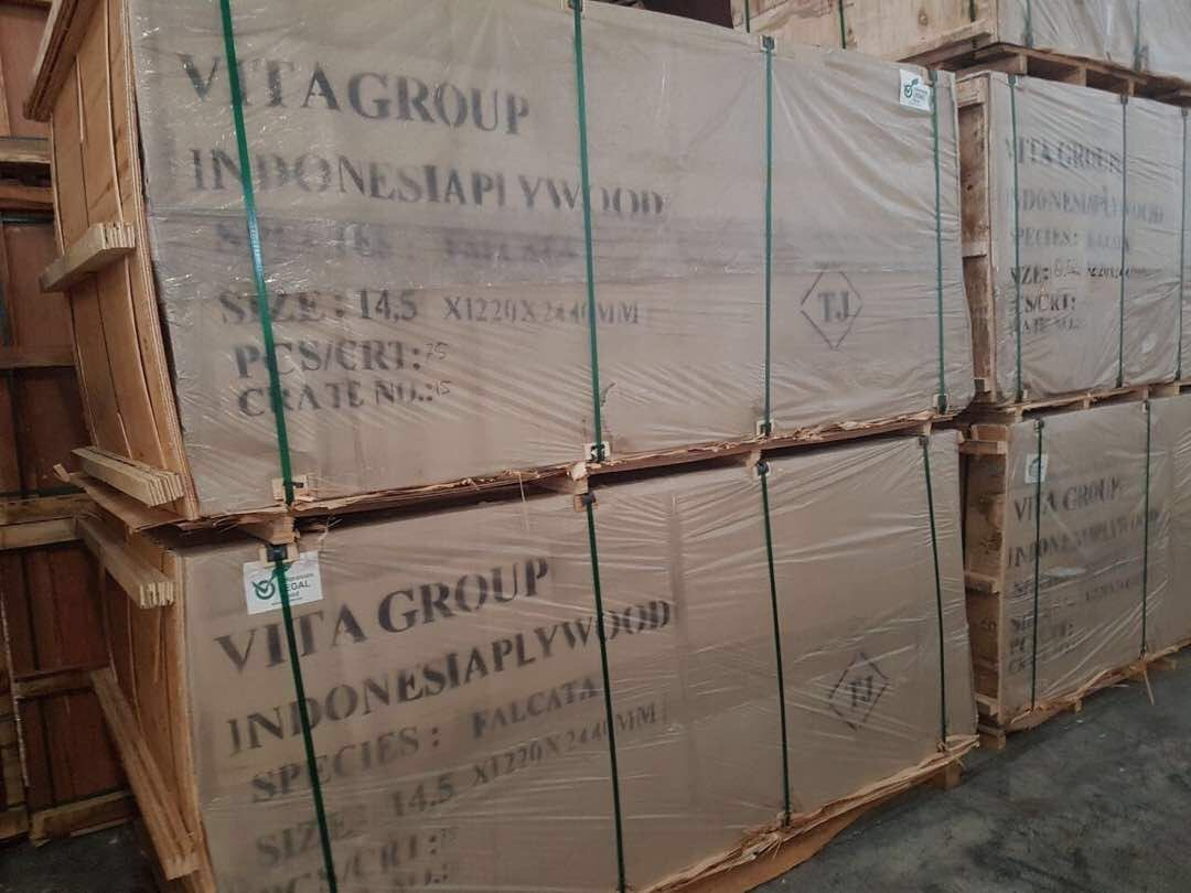 Transportation of Plywood