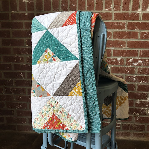 Teepees and Toys Quilt