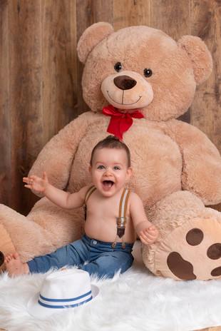 Photographie 6-9 mois bébé