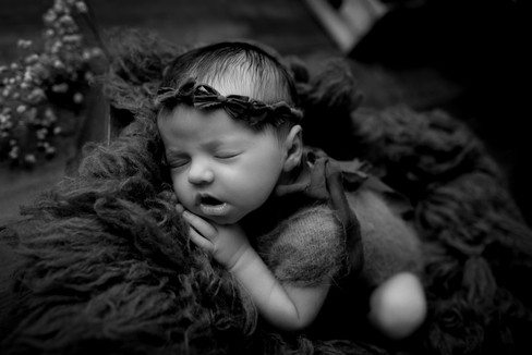 Photographie Noir et blanc nouveau né Chaumont Langres