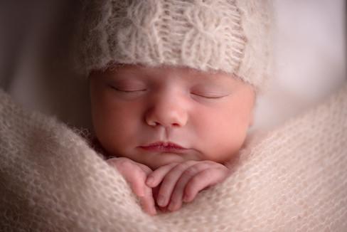 Photographe bébé dort Langres Chaumont Dijon