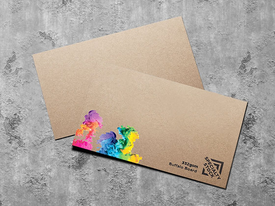 Business Cards ~ 332gsm Buffalo Board ~ Recyclable