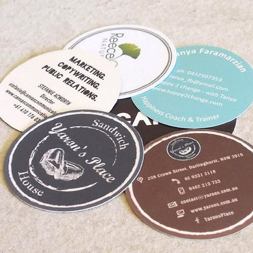 Round business cards circular die cut cards business cards round business cards circular die cut cards business cards melbourne australia wide delivery reheart Image collections