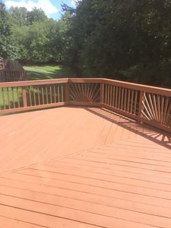 Deck resurfacing after