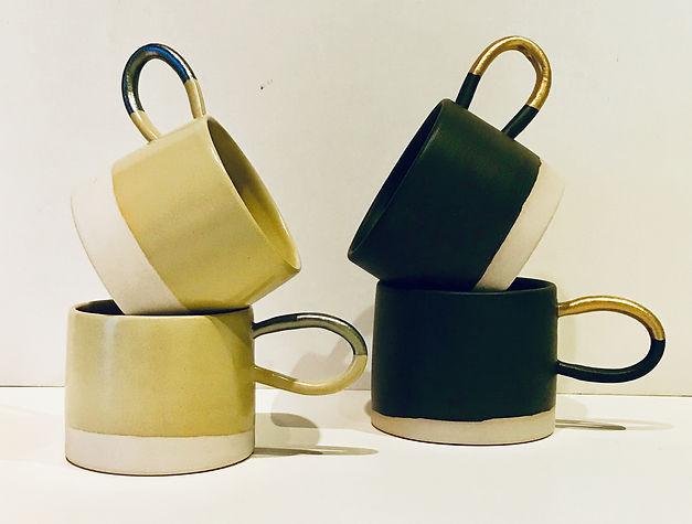 Coffee mugs (Karen Beard Ceramics)