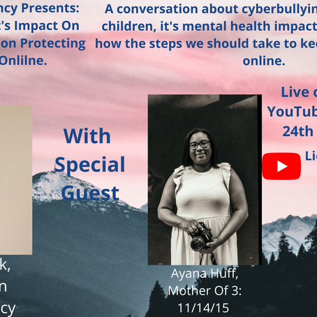 Mental Health Conversation: Cyber Bullying & it's Impact on Children - A Live Conversation