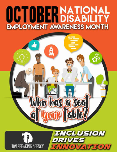 A awareness campain by David Kendrick. The purpose of the campain was to make executives aware of the contributions that individuals with disabilities can have in the workplace.