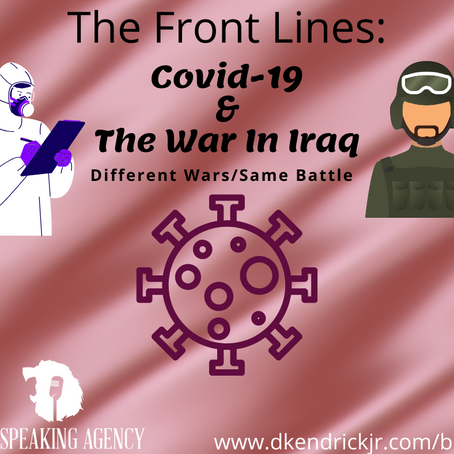 The Front Lines: COVID-19 & The War In Iraq
