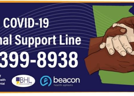 Three Things Learned From The Georgia COVID-19 Emotional Support Line