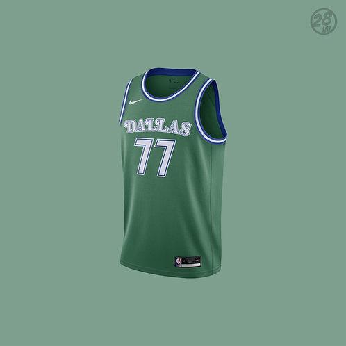 Mavericks Luka Doncic Nike 2020-21 Hardwood Classic  Swingman Jersey