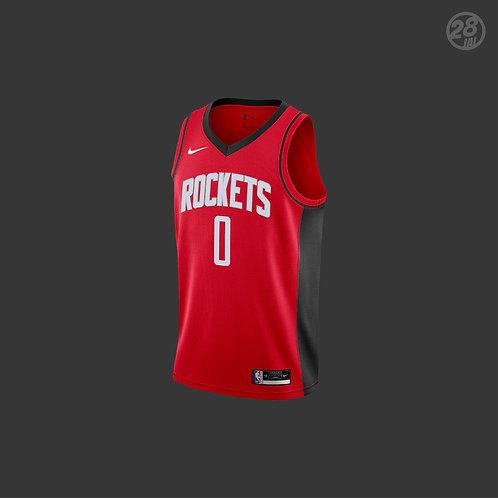 Rockets Russell Westbrook Nike 2020-21 Icon Edition Swingman Jersey