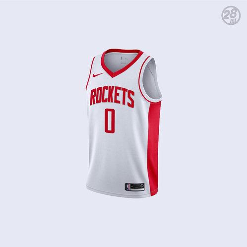 Rockets Russell Westbrook Nike 2019-20 Association Edition Swingman Jersey