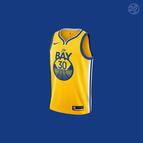 Warriors Stephen Curry Nike 2019-20 Statement Edition Swingman Jersey