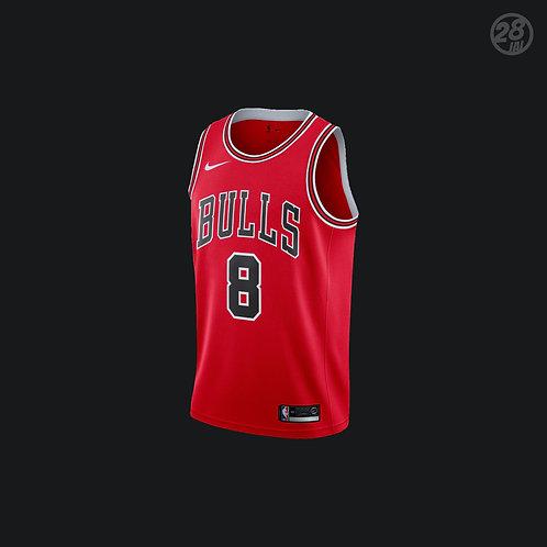 Bulls Zach Lavine Nike 2018-19 Icon Edition Swingman Jersey