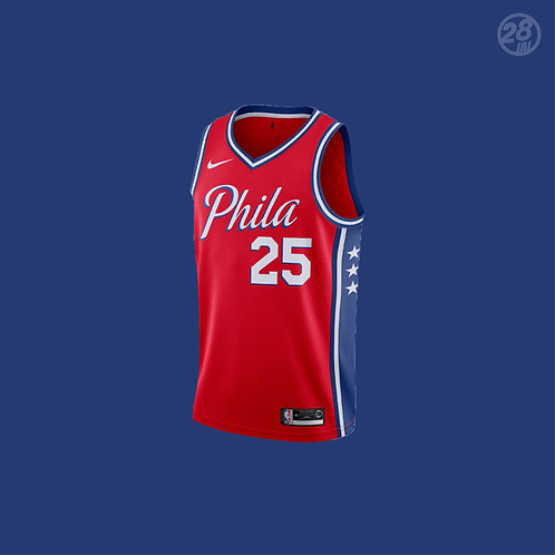 76ers Ben Simmons Nike 2019-20 Statement Edition Swingman Jersey