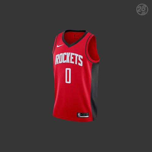 Rockets Russell Westbrook Nike 2019-20 Icon Edition Swingman Jersey