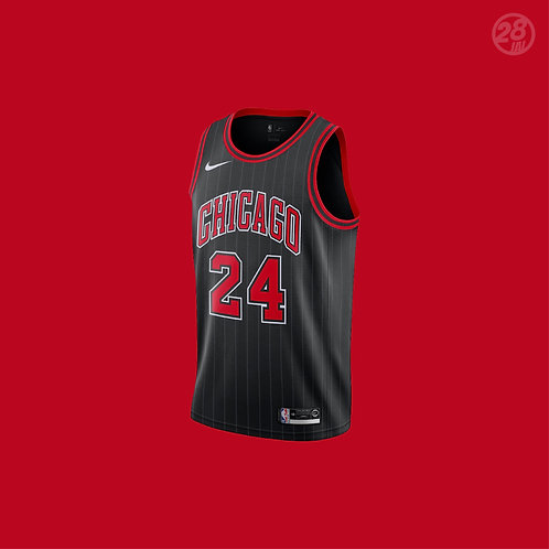 Bulls Lauri Markkanen Nike 2019-20 Statement Edition Swingman Jersey