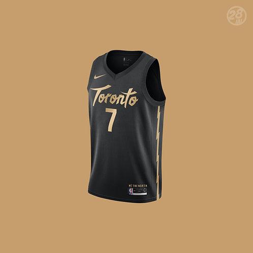 Raptors Kyle Lowry Nike 2019-20 City Edition Swingman Jersey