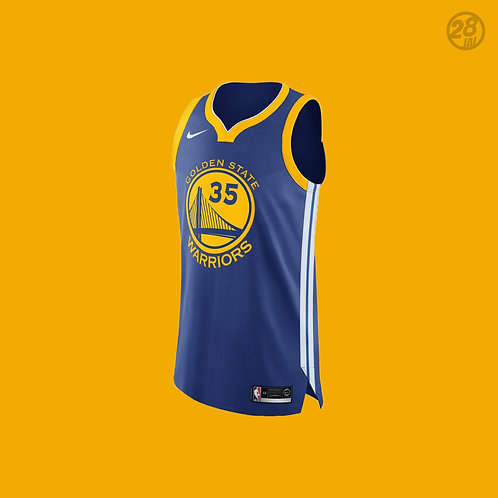 Warriors Kevin Durant Nike 2018-19 Icon Edition Authentic Jersey