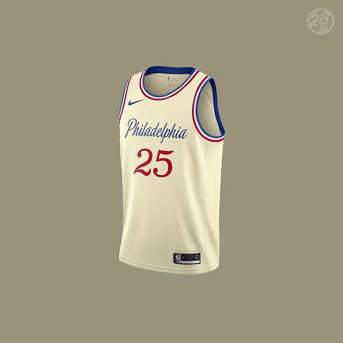 76ers Ben Simmons Nike 2019-20 City Edition Swingman Jersey
