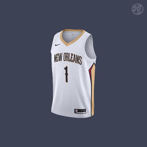 Pelicans Zion Williamson Nike 2019-20 Association Edition Swingman Jersey