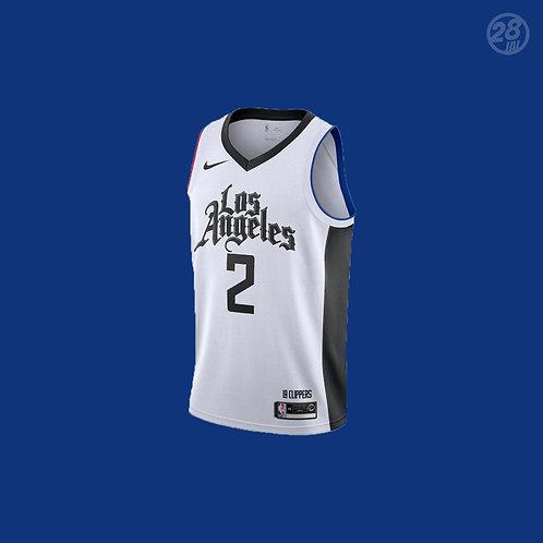Clippers Kawhi Leonard Nike 2019-20 City Edition Swingman Jersey