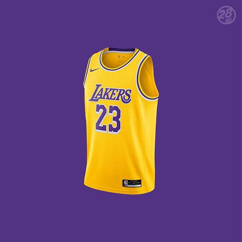 Lakers LeBron James Nike 2020-21 Icon Edition Swingman Jersey