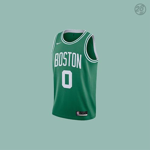 Celtics Jayson Tatum Nike 2020-21 Icon Edition Swingman Jersey