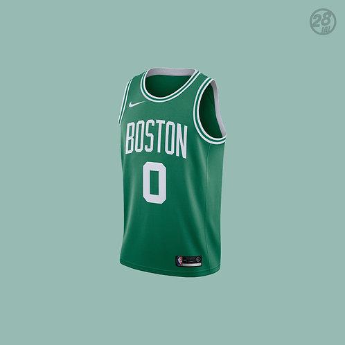 Celtics Jayson Tatum Nike 2018-19 Icon Edition Swingman Jersey