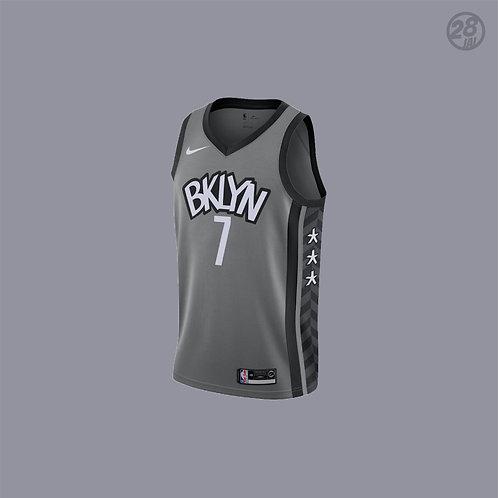 Nets Kevin Durant Nike 2019-20 Statement Edition Swingman Jersey