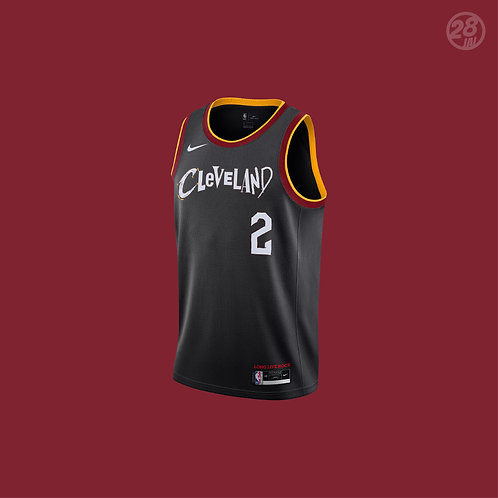 Cavaliers Collin Sexton Nike 2020-21 City Edition Swingman Jersey