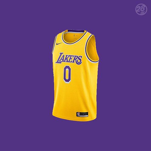 Lakers Kyle Kuzma Nike 2020-21 Icon Edition Swingman Jersey