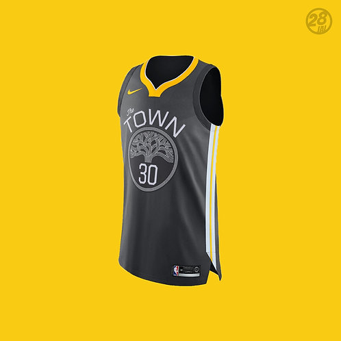 Warriors Stephen Curry Nike 2018-19 Statement Edition Authentic Jersey