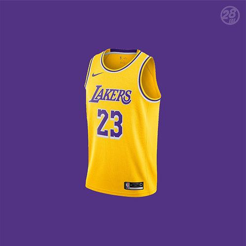 Lakers LeBron James Nike 2019-20 Icon Edition Swingman Jersey